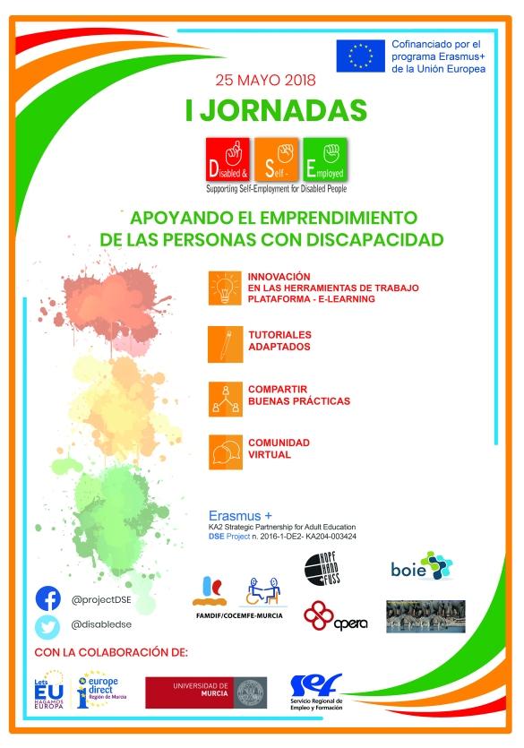 I Jornadas apoyando el emprendimiento de las personas con discapacidad